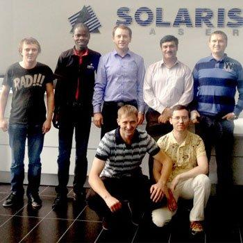Визит на компанию Solaris Laser (Польша)