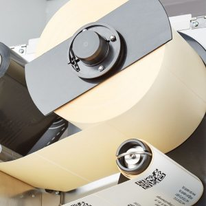 Термопринтер Carl Valentin Spectra II - механизм размотки этикетки