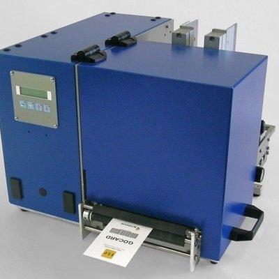 Термотрансферная печать картонніх ярліков