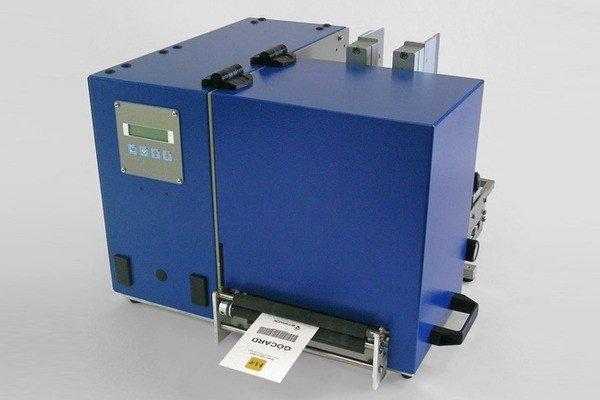 Термотрансферная печать картонных ярлыков