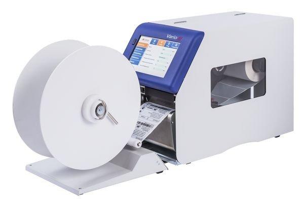 Термотрансферный принтер Vario III с внешним смотчиком этикеток