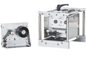 Кассета с установленным риббоном принтера Dynacode