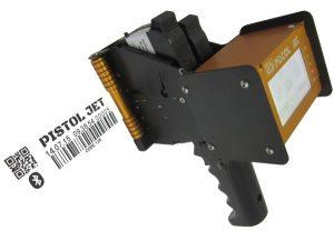Маркування 25 мм ручним принтером на картоні