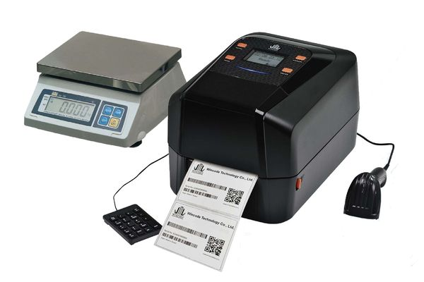 Термотрансферный принтер с подключением к весам