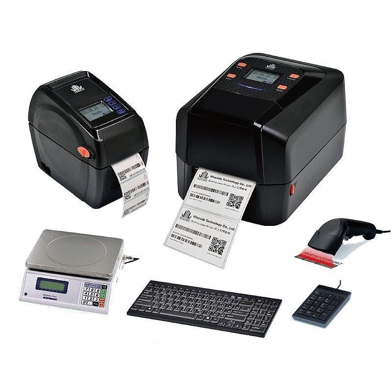 Термотрансферные принтеры Wincode с возможностью подключения весов