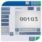 Интерфейс маркиратора alphaJET mondo - процесс контроля маркировки
