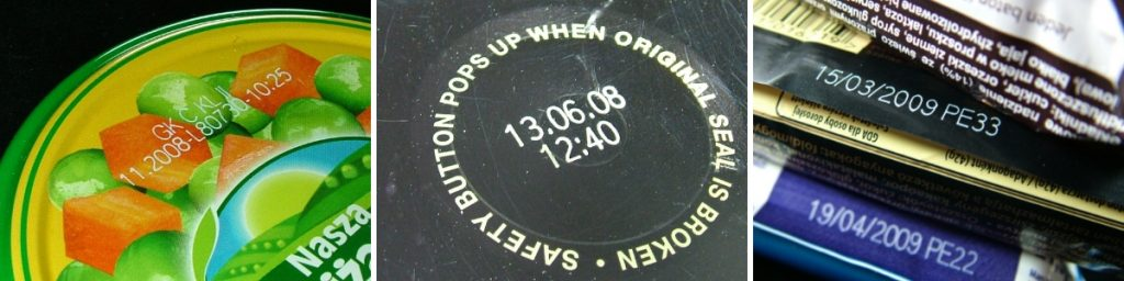 Примеры лазерной маркировки в пищещой промышленности