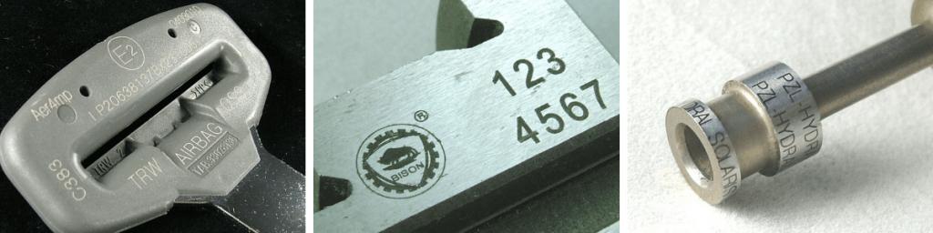Маркировка металла и пластика твердотельным лазером