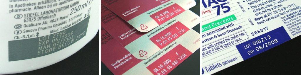 Лазерная маркировка на картонных упаковках