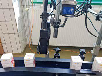 Краплеструменевий маркувальник alphaJET mondo з системою контролю друку Code-M Camera