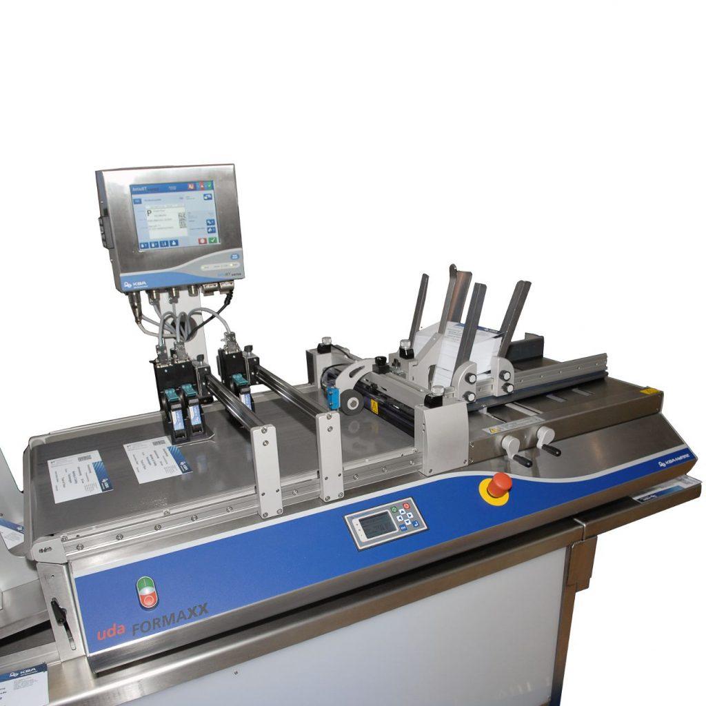 udaFORMAXX - система подачі та маркування складених картонних коробок